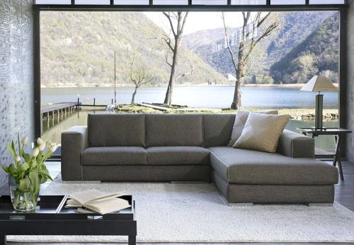 Divano moderno blow divani e divani letto su misura for Salotti moderni prezzi