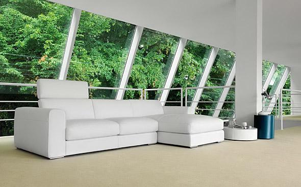 Divani su misura divani e divani letto su misura for Divani moderni pelle